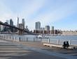 Brooklyn Bridge Park, January 2021