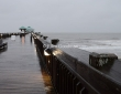 Folly Beach Pier In The Rain, Charleston