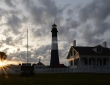 Setting Sun, Tybee Island Lighthouse