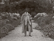 Monet in his Garden at Giverny, c.1920