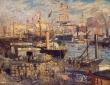 Monet,The Grand Dock at LeHavre1872