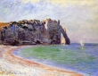 Monet, Etretat Port D'Aval, 1885