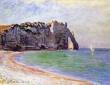 Monet, Etretat Port D'Aval, 1885