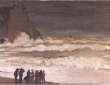 Monet, Stormy Sea At Etretat, c.1868