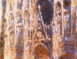 Monet, Rouen Cathedral, the Portal in the Sun, 1894