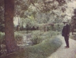 Monet, At The Water Garden 1899