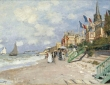 Monet, La Plage a Trouville,1870