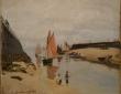Monet, The Harbour at Trouville,1870
