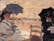 Monet, Trouville Beach,1870