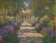 Monet, The Garden In Giverny, 1902
