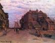 Monet, La Lieutenance a Honfleur,1864