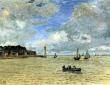 Monet, L'Emouchure de la Seine a Honfleur,1865